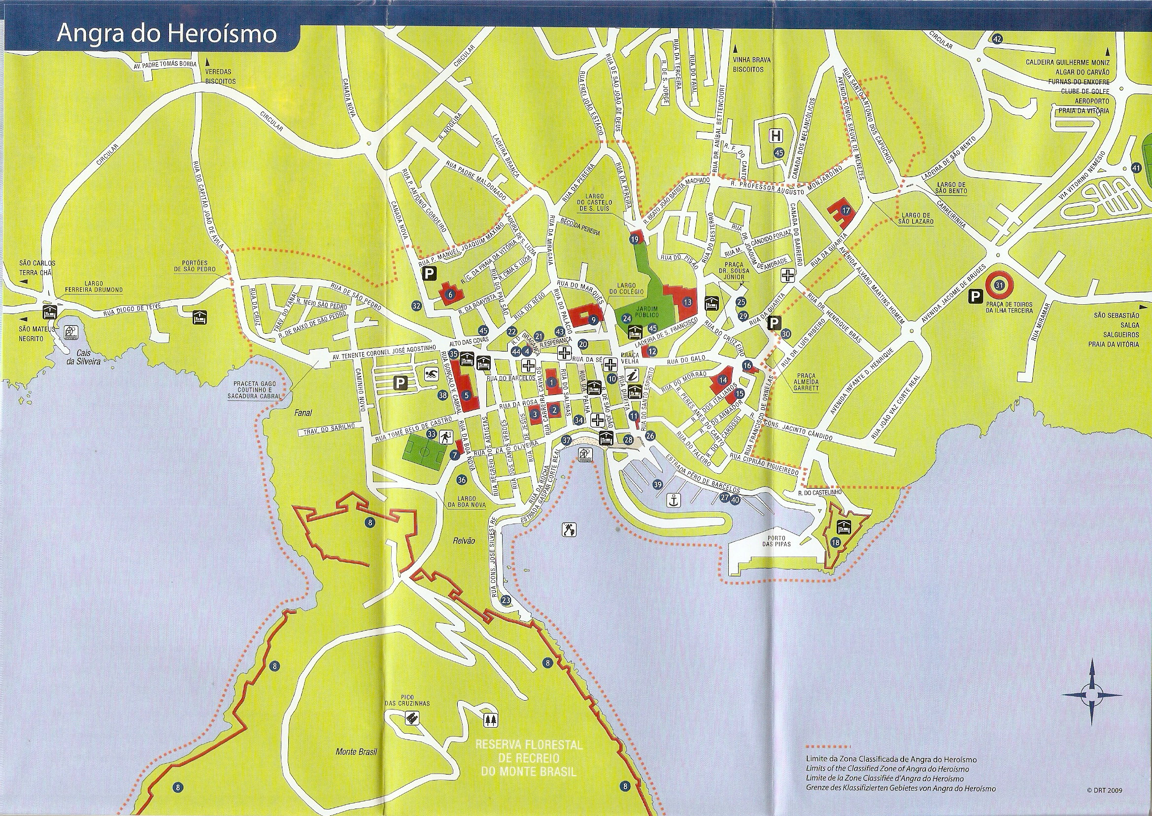 angra do heroísmo mapa Angra Map | Living At Lajes angra do heroísmo mapa